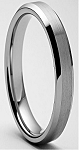 Rasoret 4mm Beveled Tungsten Carbide Ring