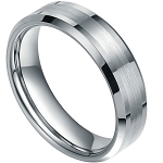 Dynamis Beveled Tungsten Ring 7mm