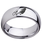 Eagles Super Bowl 2018 Tungsten Carbide Ring 8mm