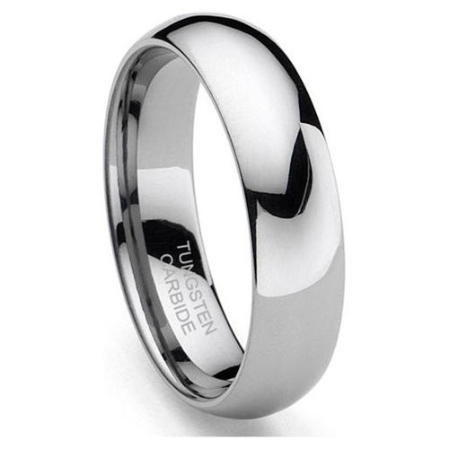 Classic 6mm Tungsten Carbide Ring