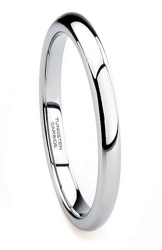 Classic 3mm Tungsten Carbide Ring