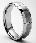 Bellus Beveled Tungsten Ring 7mm