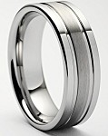 Renzo Tungsten Carbide Ring 7mm