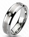 Marcus Tungsten Wedding Band