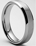 Rasoret 7mm Tungsten Carbide Ring