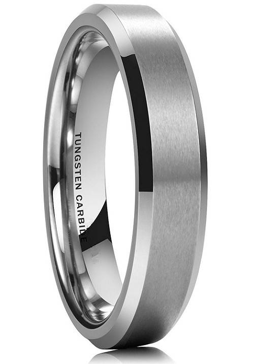 Rasoret 6mm Tungsten Carbide Ring