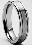 Renzo Tungsten Carbide Ring 5mm
