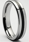 Athos Tungsten Ring  6mm