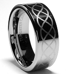 Odyssey Infinity Tungsten Ring 8mm