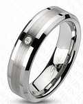 Marcus Tungsten Wedding Band 8mm