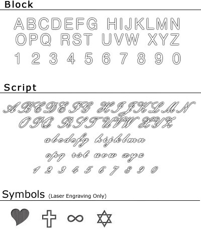 engraving examples