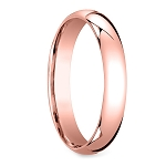 4mm Rose Gold Tungsten Wedding Band