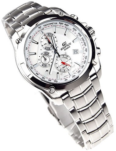 Casio Edifice EF-524D-7A Mens 100m Stainless Steel Watch