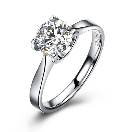 Princess 0.3 CT Diamond Ring